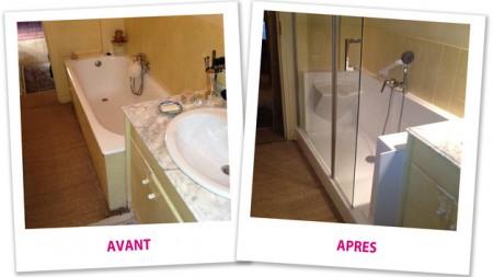 Baignoire porte bps access home le sp cialiste du for Baignoire douche porte